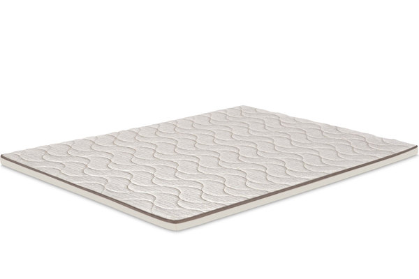 Antibacterial top mattress with memory foam and minerals
